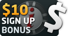 $10 Free Sign Up Bonus