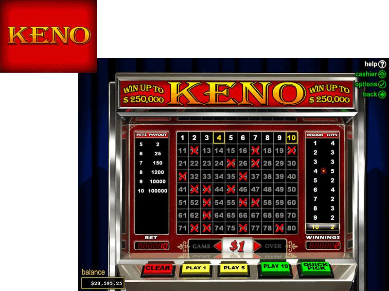 Play keno not gambling casino movie clips