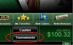Download and play in our Slot Tourneys!  Now!